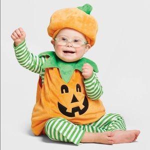 Infant Pumpkin plush costume